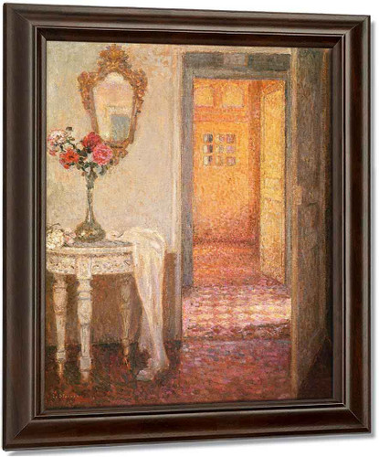 Interior By Henri Le Sidaner