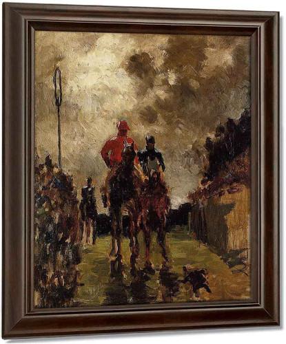 Jockeys By Henri De Toulouse Lautrec