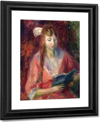Julia Reading By William James Glackens  By William James Glackens