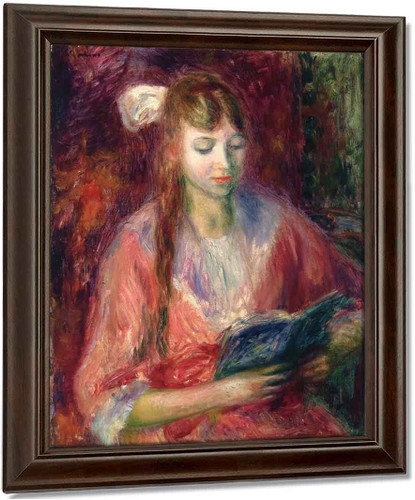 Julia Reading By William James Glackens