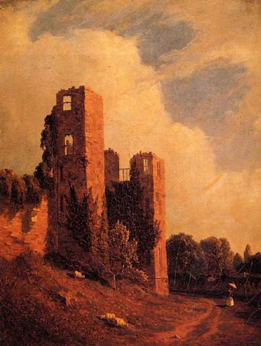 Kenilworth Castle By Sanford Robinson Gifford