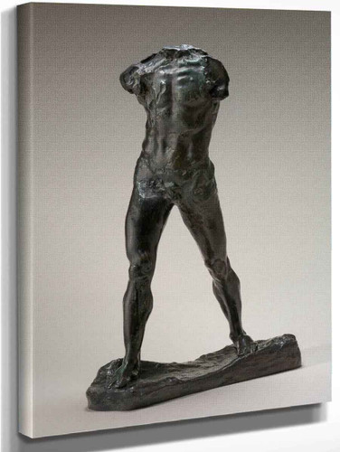 L'homme Qui Marche By Auguste Rodin Art Reproduction