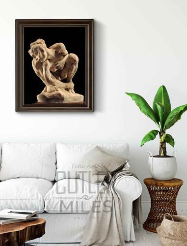 La Femme Acroupie  By Auguste Rodin