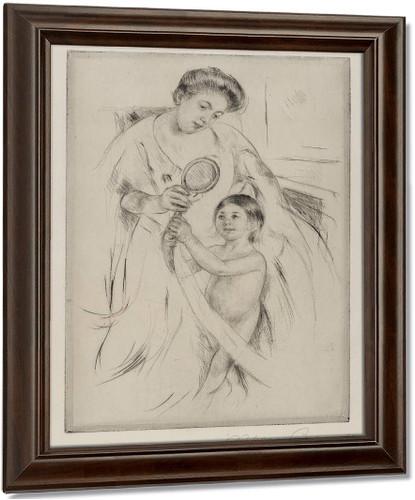 La Glace A Main By Mary Cassatt