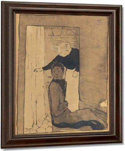 La Porte By Edouard Vuillard