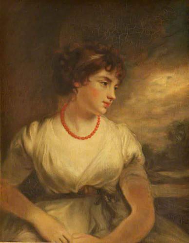 Lady Elizabeth, Countess Of Oxford1 By John Hoppner