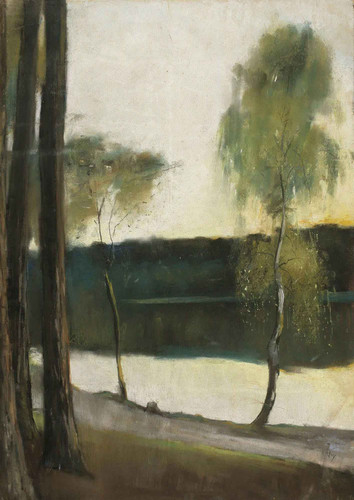 Landscape2 By Lesser Ury