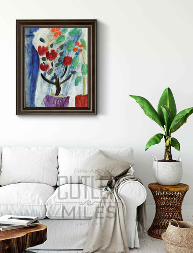 Large Still Life Flowers By Alexei Jawlensky By Alexei Jawlensky