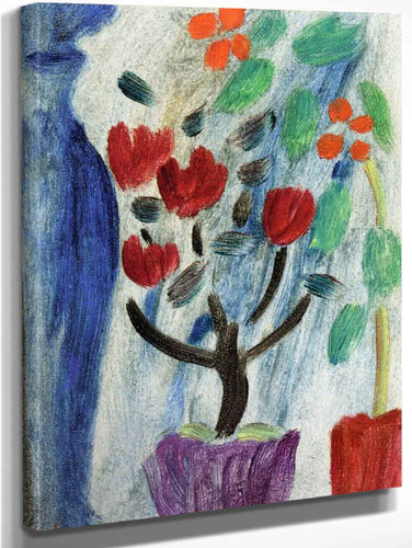 Large Still Life Flowers By Alexei Jawlensky By Alexei Jawlensky