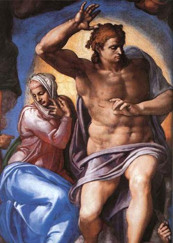 Last Judgment  22 By Michelangelo Buonarroti By Michelangelo Buonarroti