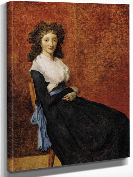 Madame Charles Louis Trudaine By Jacques Louis David By Jacques Louis David