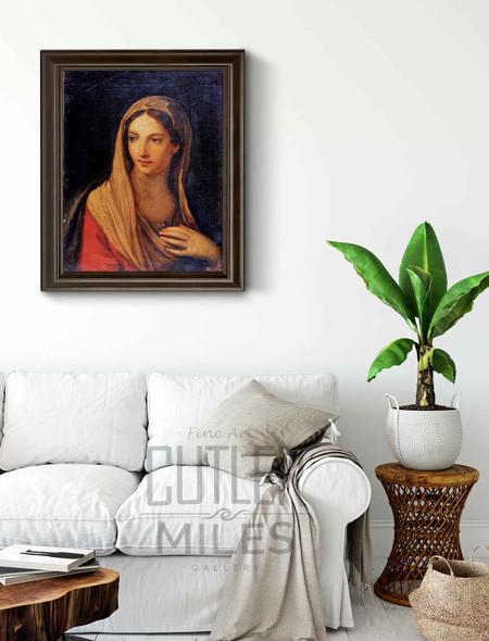 Madonna By Francesco Albani By Francesco Albani