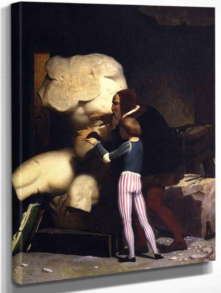 Michelangelo  By Jean Leon Gerome