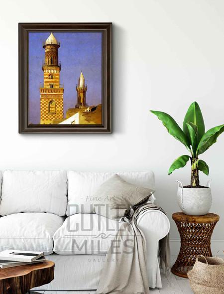 Minarets Of Cairo By Jean Leon Gerome