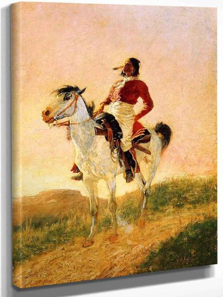 Modern Comanche By Frederic Remington