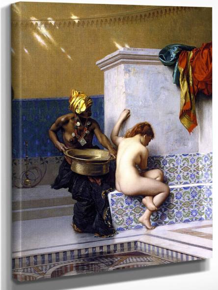Moorish Bath  By Jean Leon Gerome