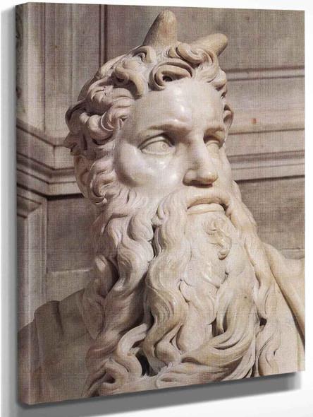 Moses  By Michelangelo Buonarroti By Michelangelo Buonarroti