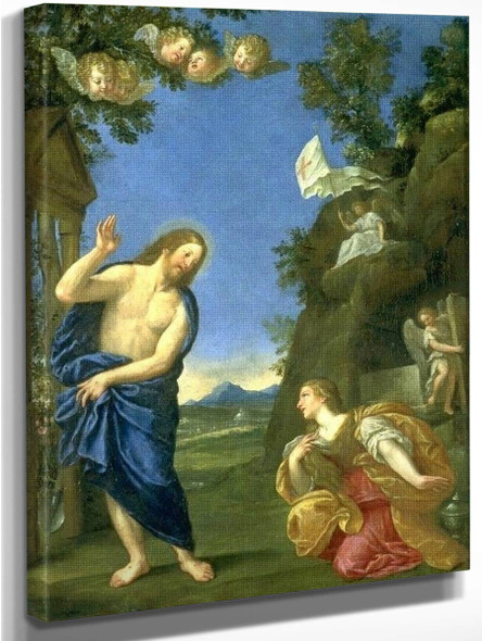Noli Mi Tangere By Francesco Albani By Francesco Albani