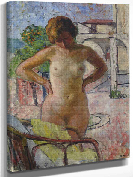 Nude In Provence By Henri Lebasque By Henri Lebasque