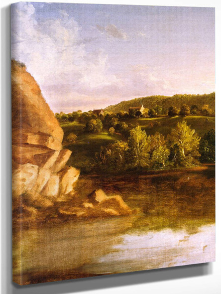 On Catskill Creek  By Thomas Cole By Thomas Cole