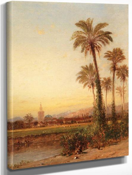 Palms Of Valencia By Samuel Colman