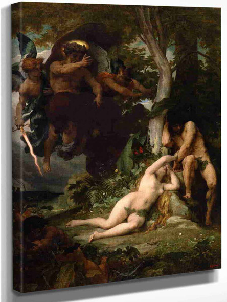 Paradise Lost By Alexandre Cabanel