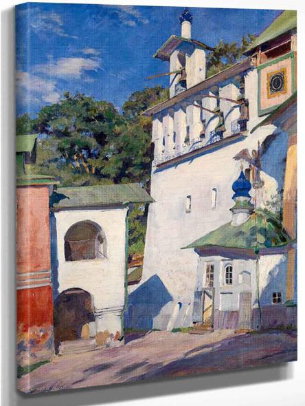 Pechersky Cloister. Big Belfry By Sergei Arsenevich Vinogradov Russian 1869 1938