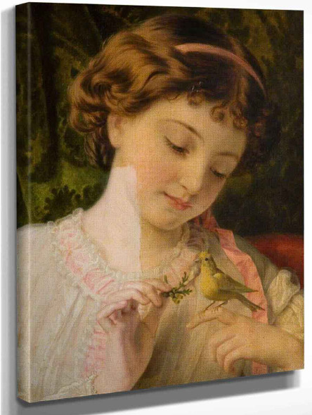 Pet Canary By Sophie Anderson