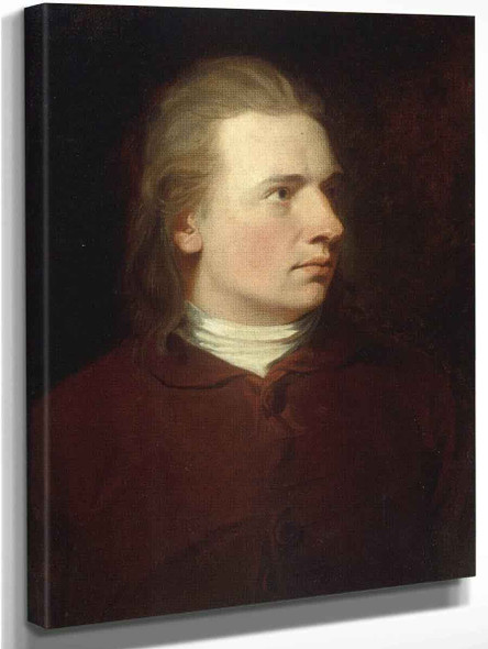 Portrait Of A Gentleman By George Romney