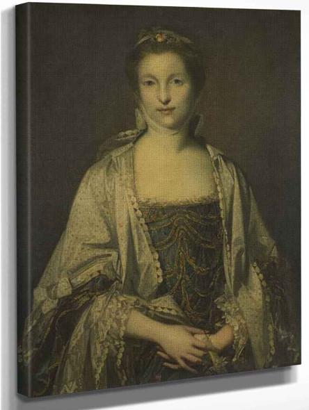 Portrait Of A Lady1 By Sir Joshua Reynolds