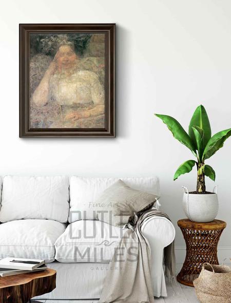 Portrait Of A Woman 5 By Olga Boznanska By Olga Boznanska