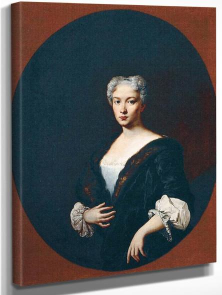 Portrait Of A Woman By Giacomo Ceruti