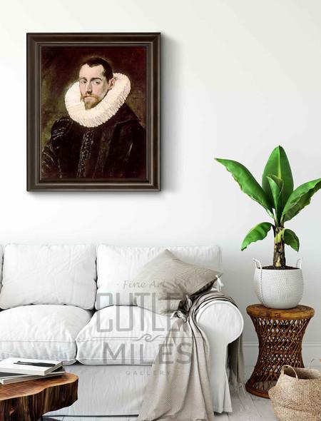 Portrait Of A Young Gentleman By El Greco By El Greco