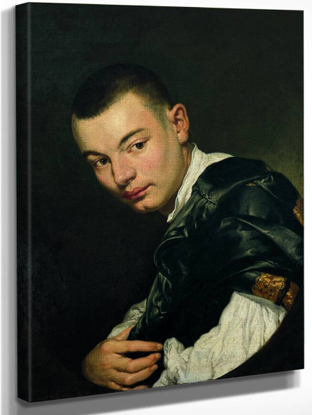 Portrait Of A Young Man By Giacomo Ceruti