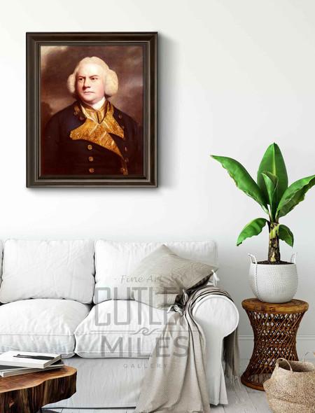 Portrait Of Admiral Thomas Cotes By Sir Joshua Reynolds