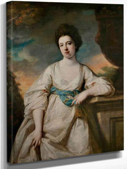 Portrait Of Anne Sawbridge By Francis Cotes, R.A. By Francis Cotes, R.A.