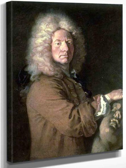 Portrait Of Antoine Joseph Pater By Jean Antoine Watteau French1684  1721