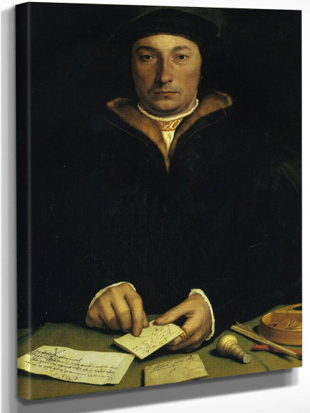 Portrait Of Dirk Tybis By Hans Holbein The Younger  By Hans Holbein The Younger
