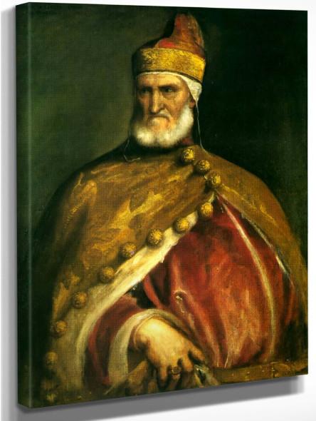 Portrait Of Doge Andrea Gritti By Titian