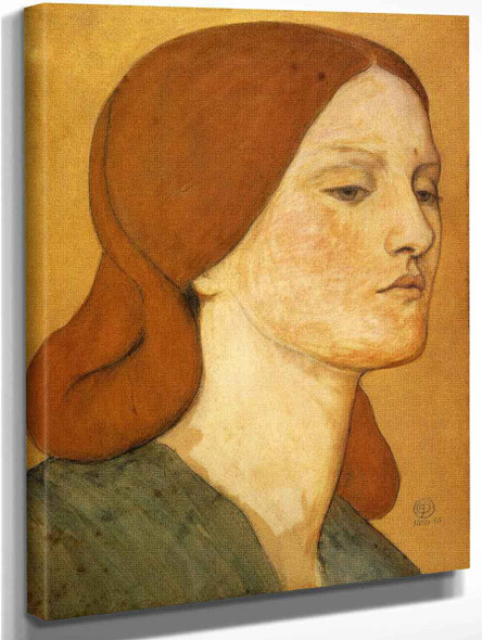 Portrait Of Elizabeth Siddal1 By Dante Gabriel Rossetti