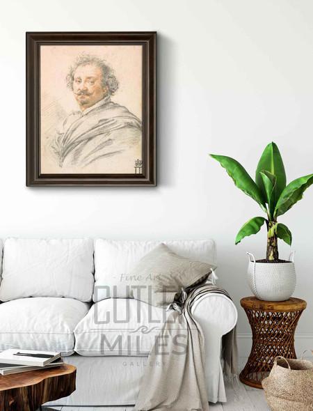 Portrait Of Giulio Strozza By Simon Vouet