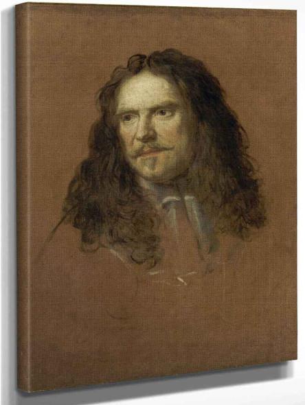 Portrait Of Henri De La Tour D'auvergne, Vicomte De Turenne By Charles Le Brun Art Reproduction