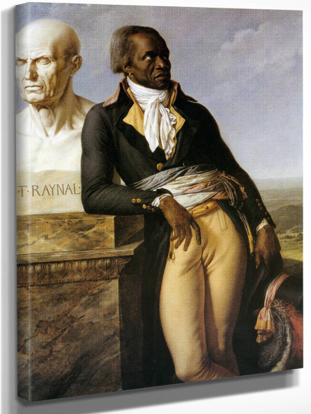 Portrait Of J. B. Belley, Deputy For Saint Domingue By Anne Louis Girodet De Roussy Trioson