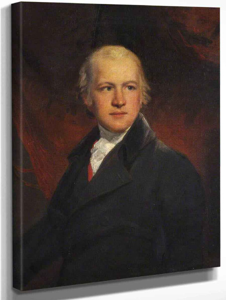Portrait Of Jonathan Raine, Jurist And Parliamentarian By John Hoppner