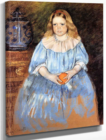 Portrait Of Margaret Milligan Sloan  By Mary Cassatt