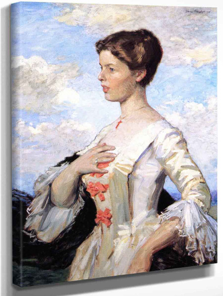Portrait Of Mrs. Gari Melchers By Gari Melchers