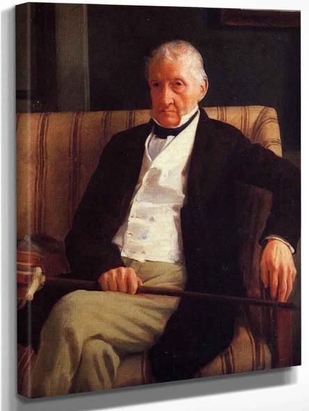 Portrait Of Rene Hillaire De Gas By Edgar Degas