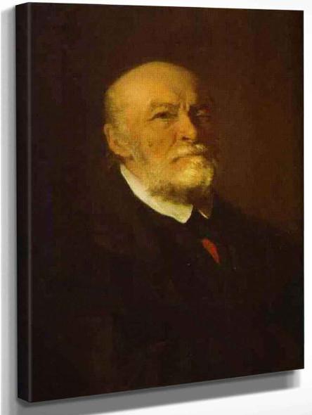Portrait Of The Surgeon Nikolay Pirogov. By Ilia Efimovich Repin