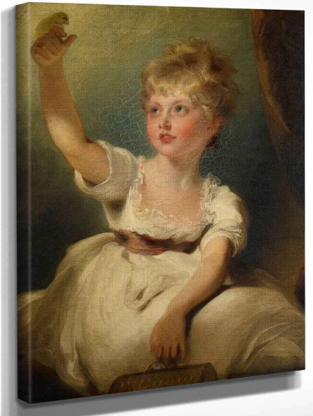 Princess Charlotte Of Wales  By Sir Thomas Lawrence