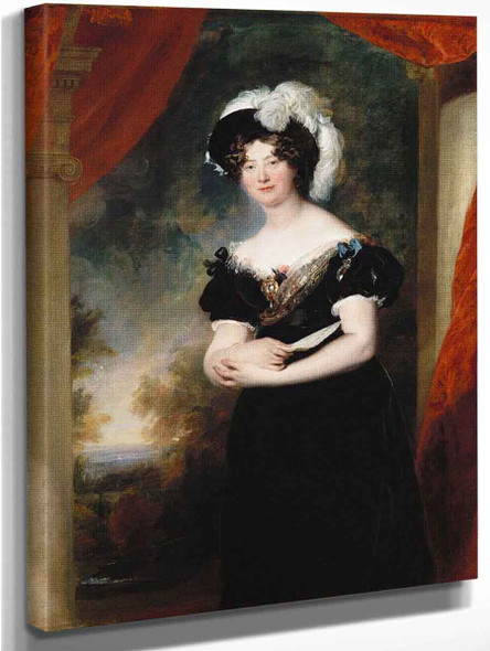 Princess Mary, Duchess Of Gloucester  By Sir Thomas Lawrence
